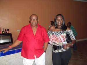 Alan Didier with wife Jennifer