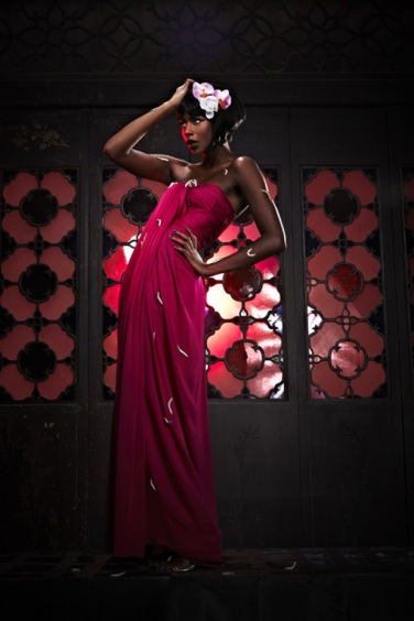 Lucian born int'l model Annaliese Dayes, appeared on America's Next Top Model (ANTM) British Invasion