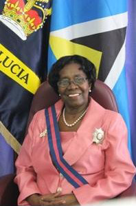 Governor General Dame Pearlette Louisy